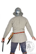 Simple medieval gambeson of Saint-Denis - Medieval Market, Back of pourpoint