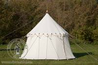 Cotton Medieval Tents - Medieval Market, Single pole pavilion type 1