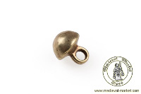 - Medieval Market, small brass button