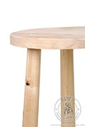 Medieval stool - Medieval Market, Medieval stool. Made by wood