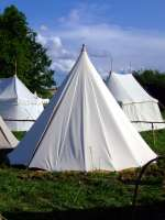 Tents rent - Medieval Market, Medieval tent type 3