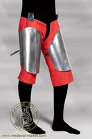 Steel thigh protectors - hardened. Medieval Market, Thigh hardened