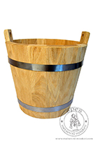 Wooden bucket. Medieval Market, Wooden bucket 1