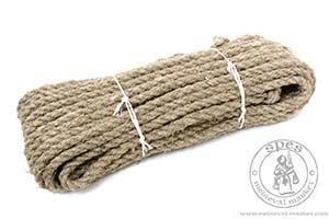 Sprz��t obozowy - Medieval Market, a hamp rope 12mm