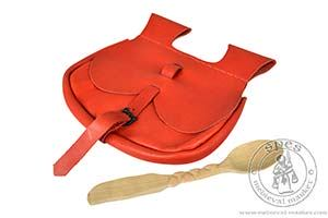 Akcesoria r����ne - Medieval Market, Front of bag with spoon