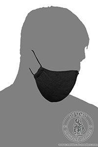 - Medieval Market, Linen face mask - one color