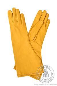 Akcesoria r����ne - Medieval Market, Courtier's medieval gloves