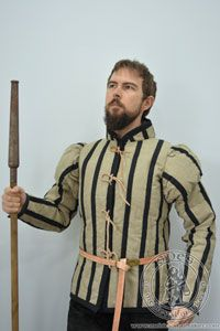 Magazyn - Medieval Market, Nonstandard doublet armor with puffed sleeves