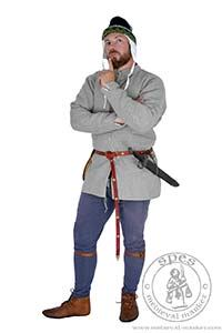 Magazyn - Medieval Market, Medieval jacket in natural color