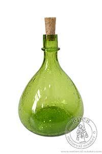 Akcesoria kuchenne - Medieval Market, red wine bottle bartholomeus green