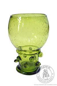 Akcesoria kuchenne - Medieval Market, made from green glass