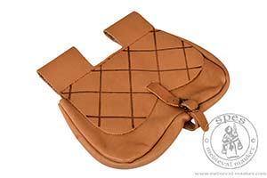 Akcesoria r����ne - Medieval Market, Flap with pattern