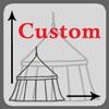 Customised medieval tent